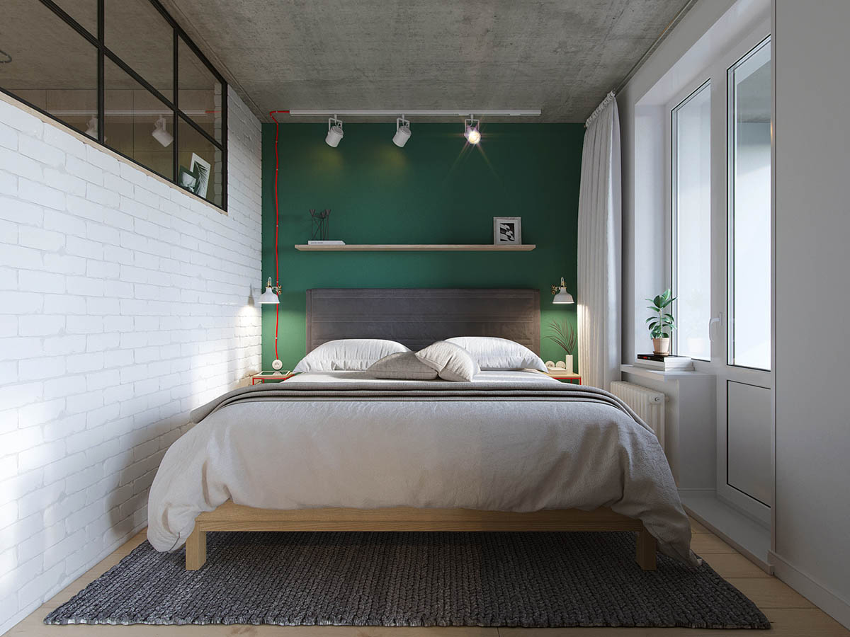 Industrial Russian Interior With Quirky Colour Twists