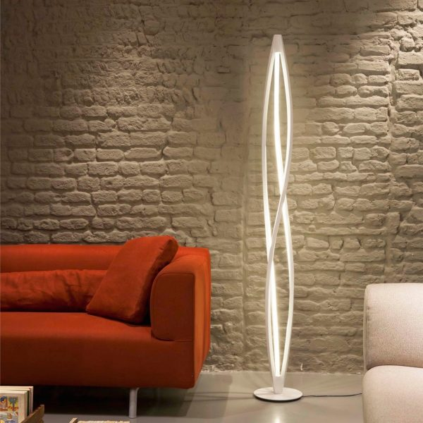 BUY IT Twist Modern Style Futuristic Floor Lamp Sometimes Interesting