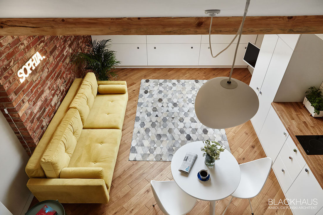 Modern Small Apartment With Loft - 3 fabulous apartment designs with lofted bedrooms
