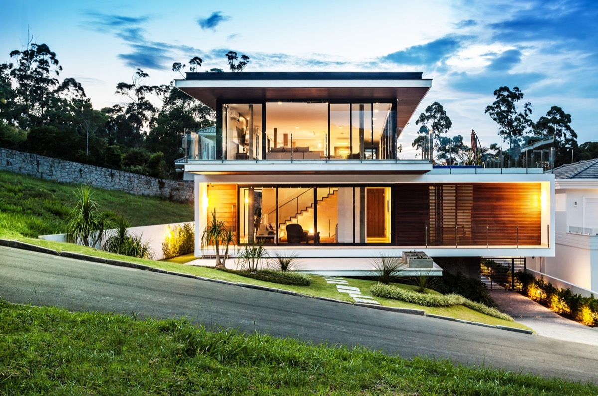 50 stunning modern home exterior designs that have awesome for Mordern house