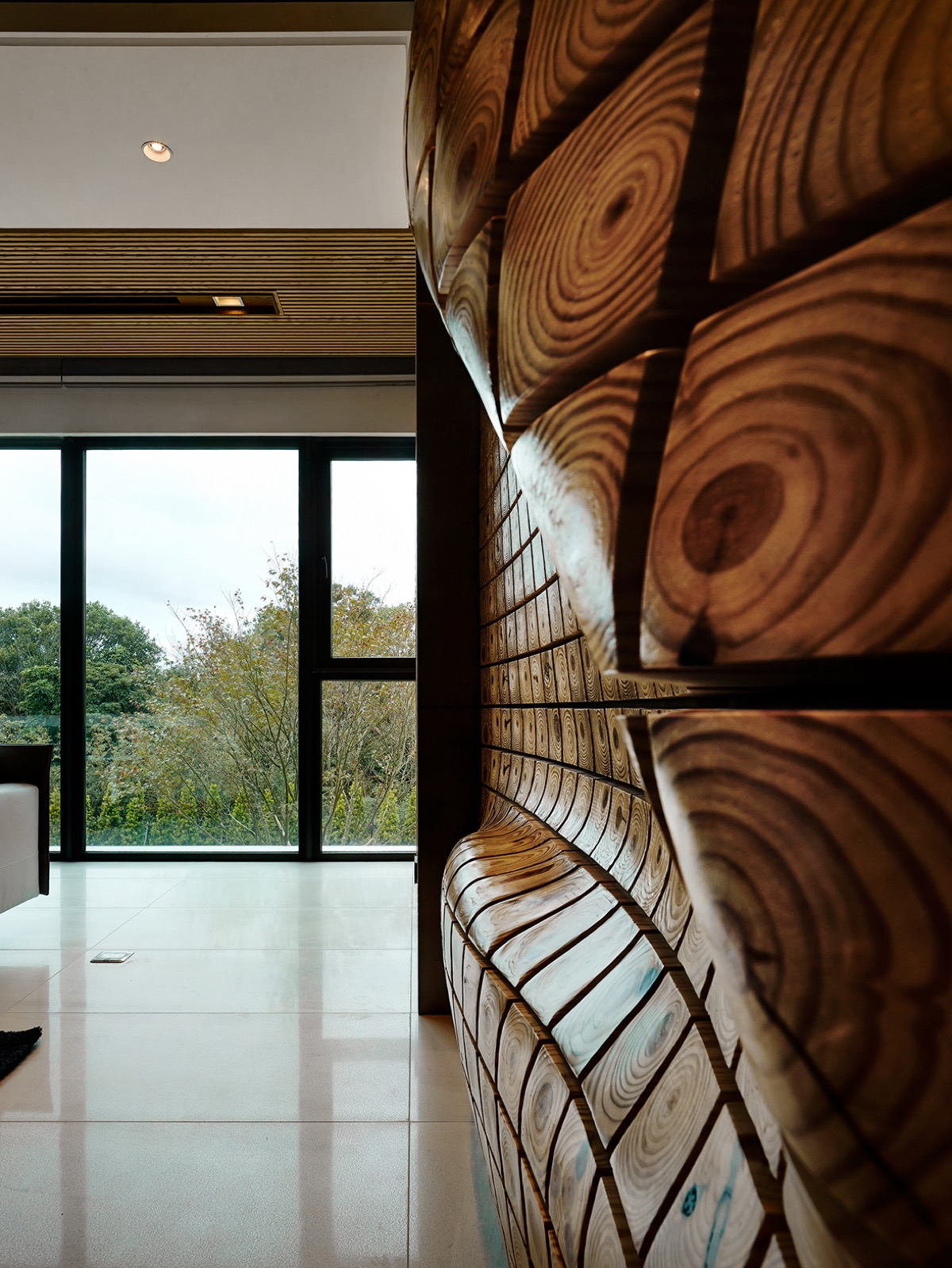 Natural Wood Art - 4 homes with design focused on beautiful wood elements