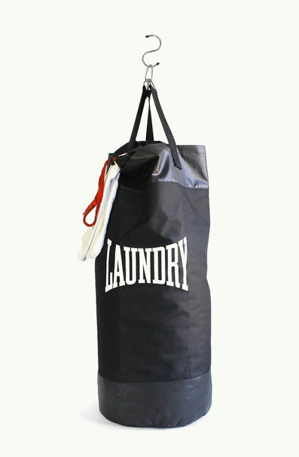 50 unique laundry bags baskets to fit any theme - Narrow clothes hamper ...