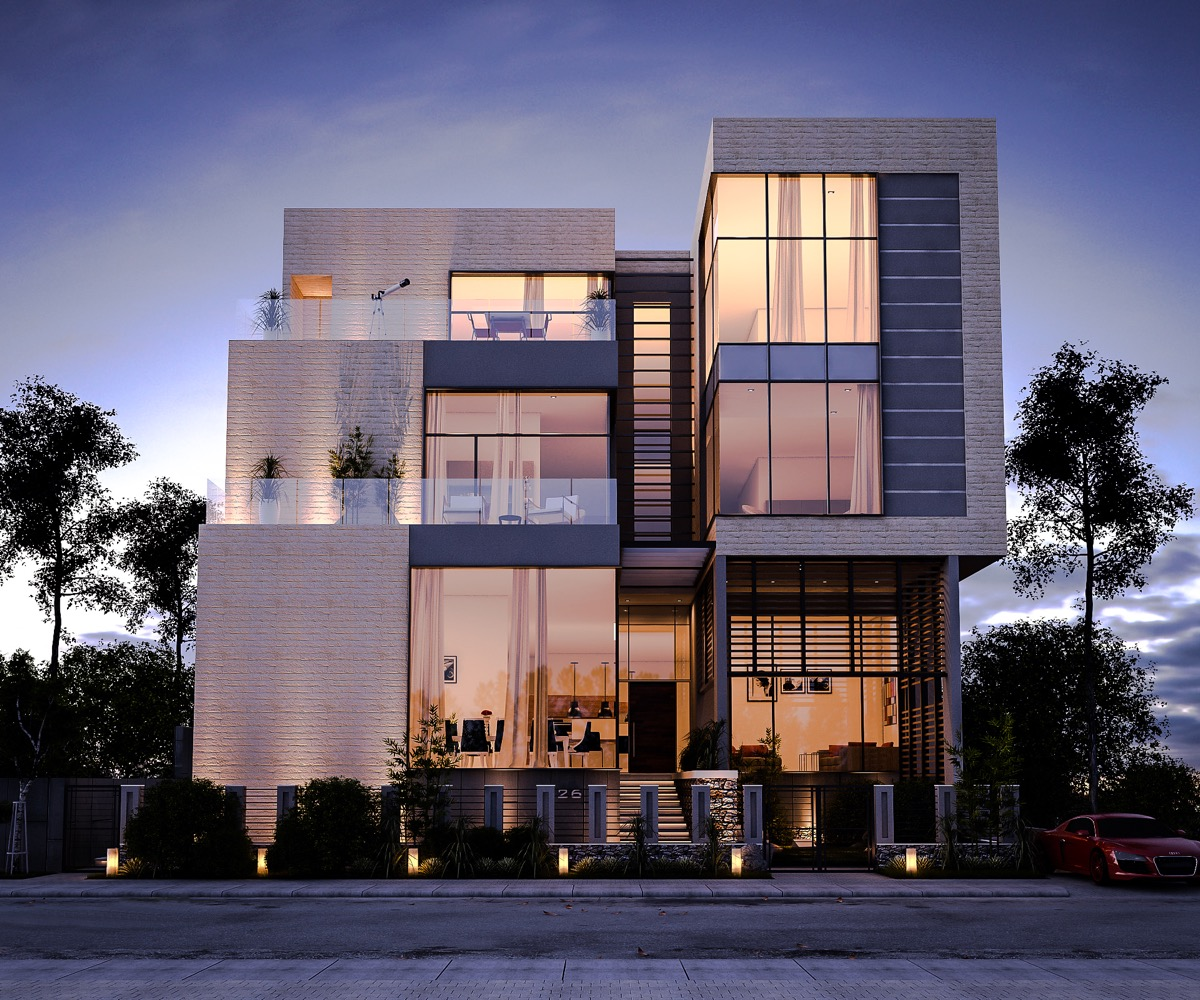 50 stunning modern home exterior designs that have awesome for 3 storey building front elevation