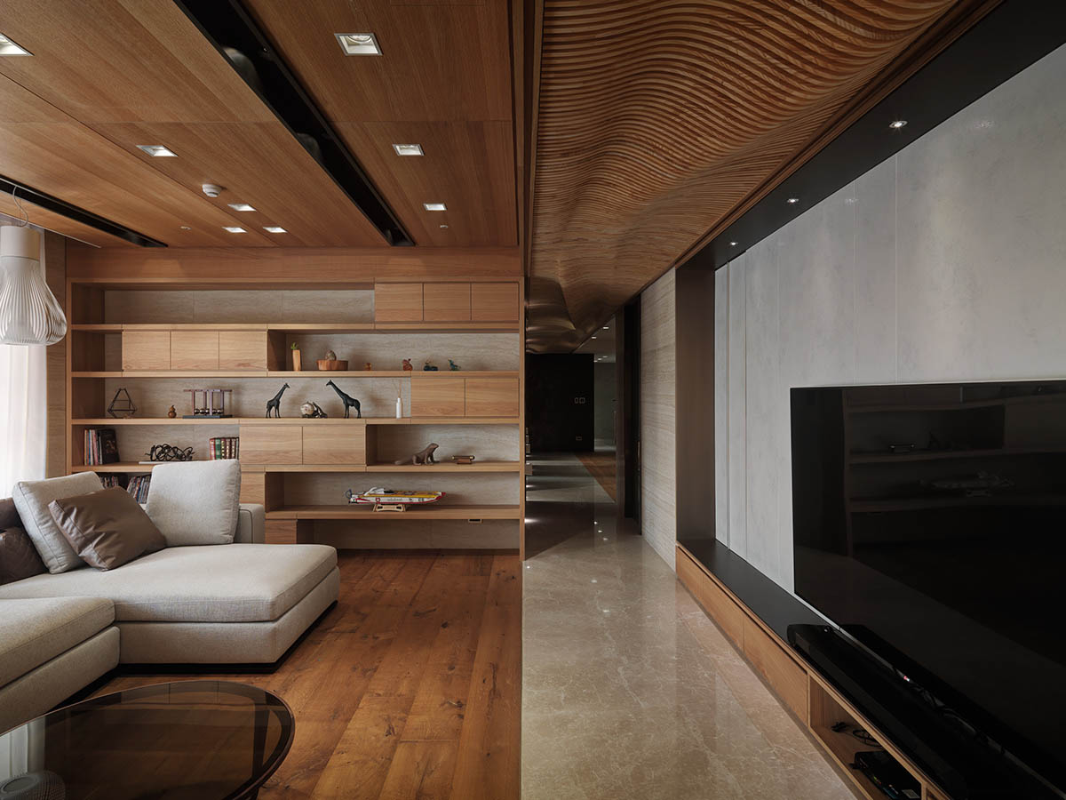 Unique Wood Ceiling - 4 homes with design focused on beautiful wood elements