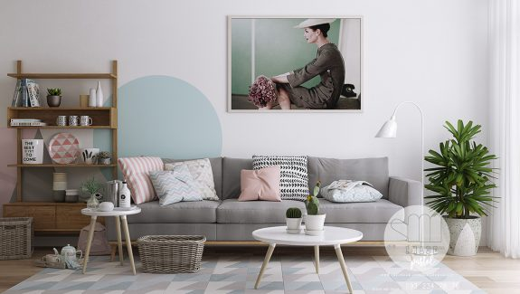 Three Inspirational Scandinavian Interiors Achieving Pastel Perfection