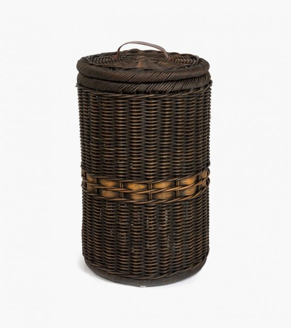 Wonderful This Rattan Waste Basket Works Perfectly With Bathroom Whites And Beiges.  BUY IT