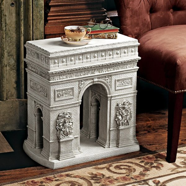 50 unique end tables that add the perfect living room finish - Guarding dragon accent table ...