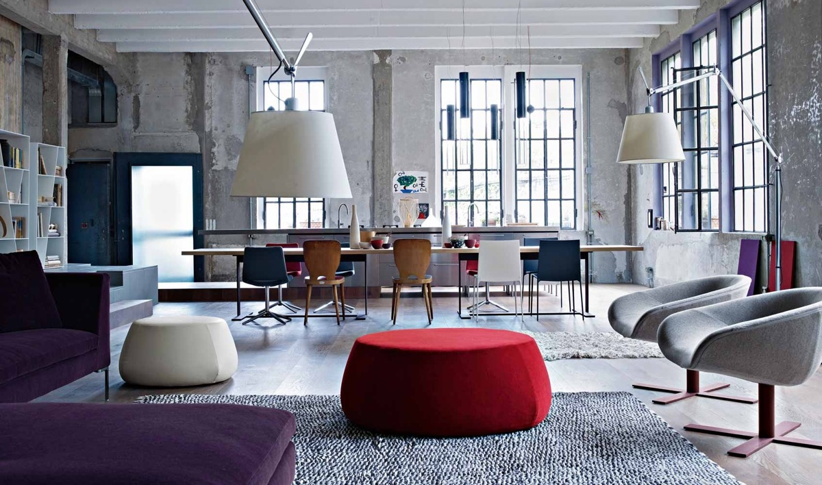 industrial living room design. 5  Industrial Style Living Room Design The Essential Guide