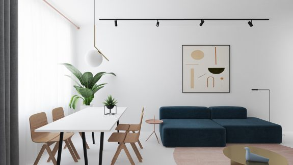 3 Light and Bright Apartments Celebrating White Space