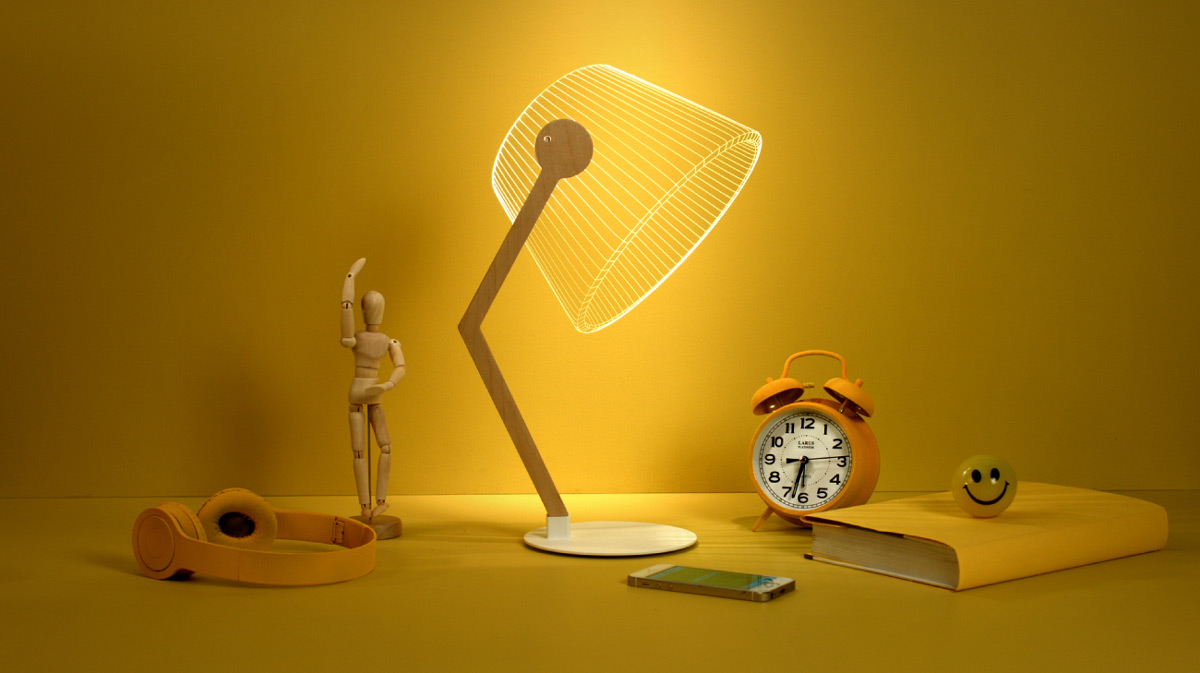Cool Product Alert The 3d Illusion Creating Ziggi Led Lamp
