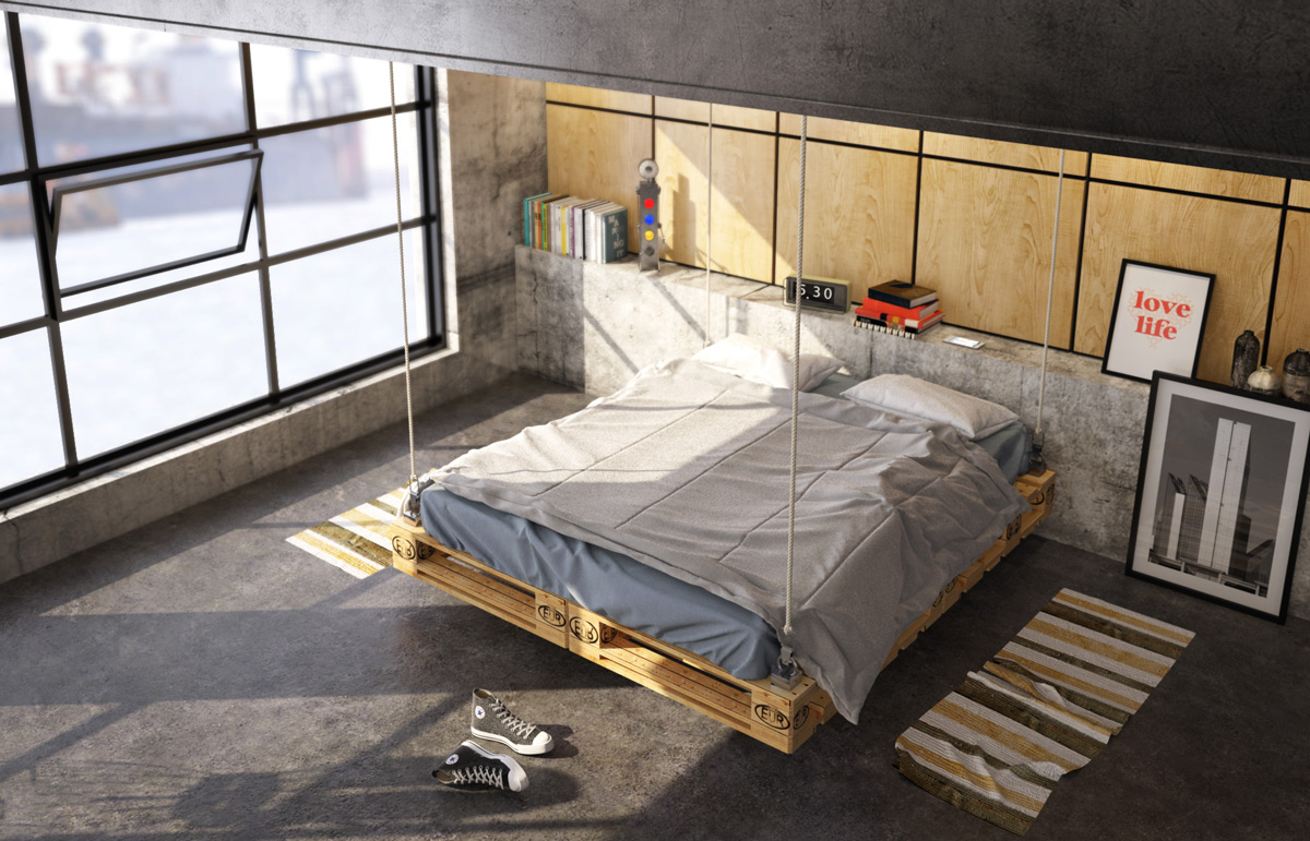 Uncategorized Industrial Bed industrial style bedroom design the essential guide 33