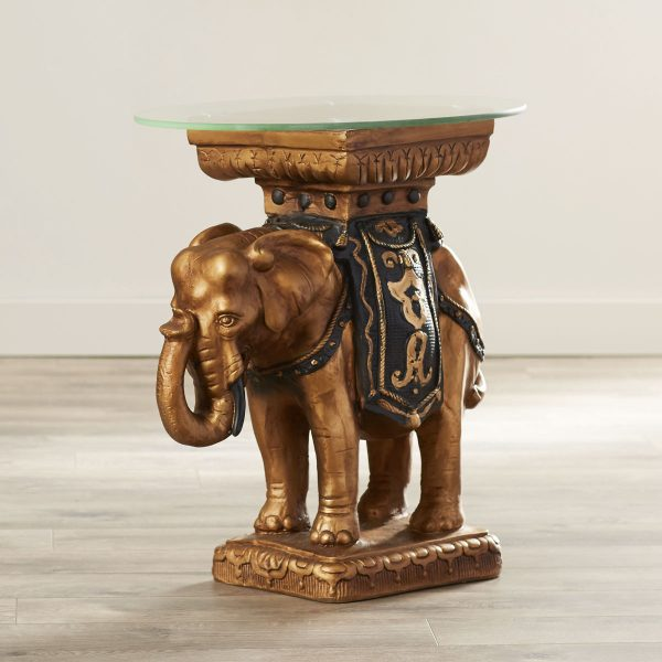 BUY IT · Sculptural Maharajau0027s Elephant End ...