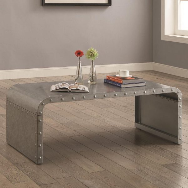Industrial Unique Metal Designer Coffee Table: 50 Unique Coffee Tables That Help You Declutter And