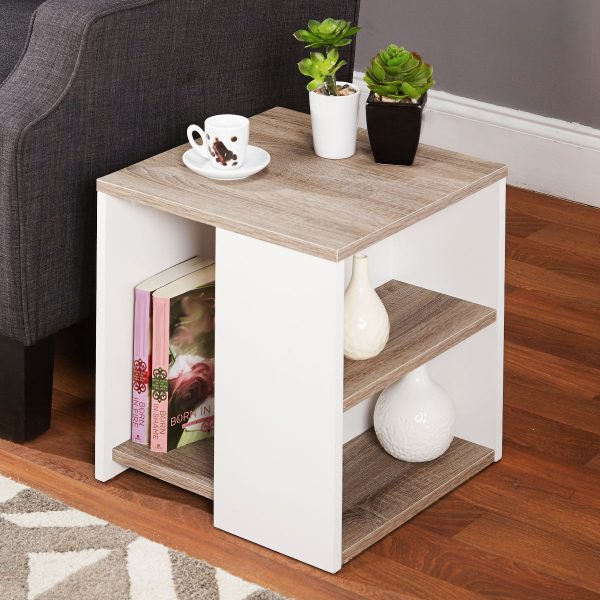 50 unique end tables that add the perfect living room finish rh home designing com Glass Top Sofa Table Modern Sofa Table