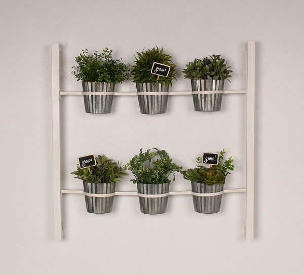 BUY IT · Wall Mounted 6 Pot Herb ...