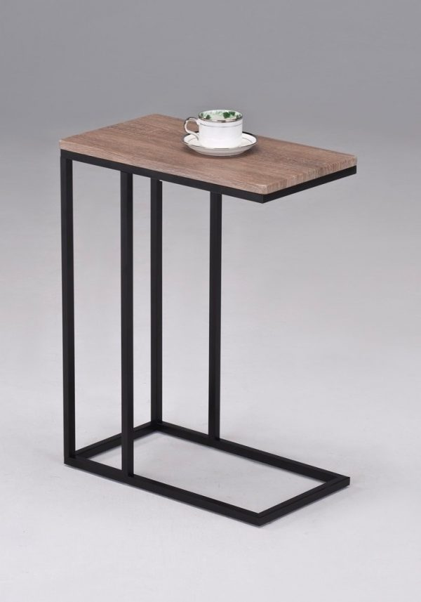 100 metal and wood end table distressed u0026 industrial st