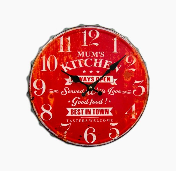 40 Beautiful Kitchen Clocks That Make The Where Heart Is