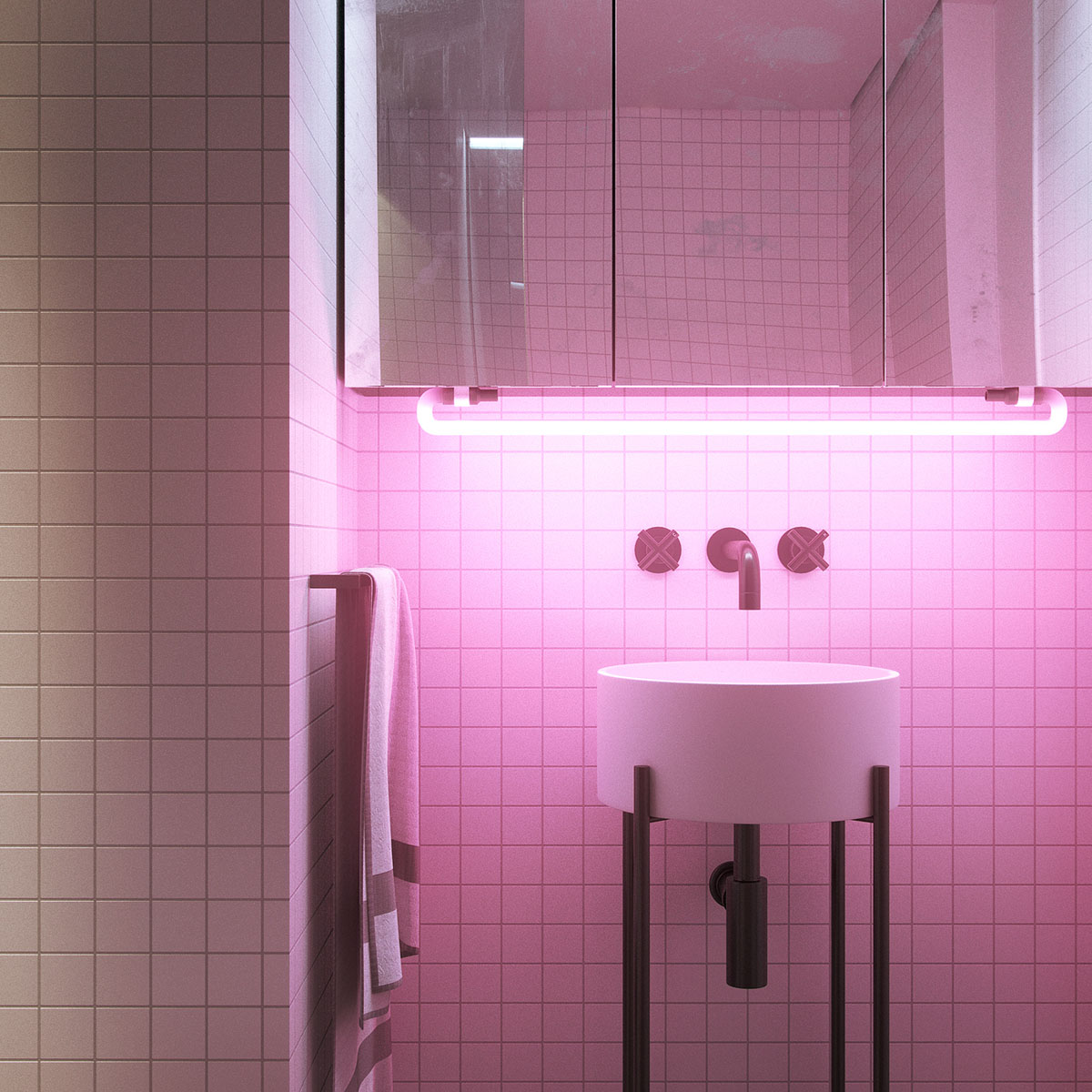 Super compact spaces a minimalist studio apartment under 23 square meters - Compact showers for small spaces minimalist ...