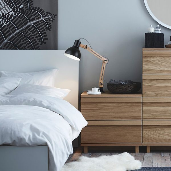 BUY IT · Scandinavian Style Bedside Lamp: ...