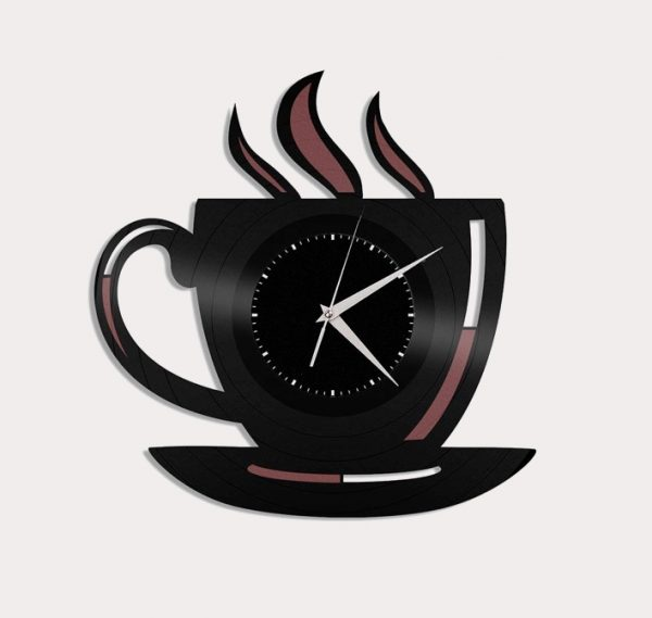 It Tea Cup Wall Clock