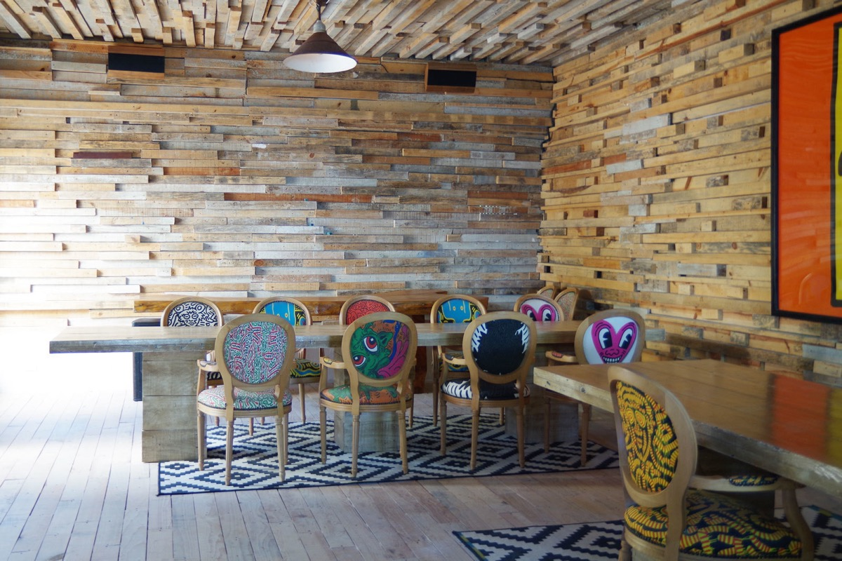 Colorful Dining Chairs - You can now rent pablo escobar s beachside villa in tulum