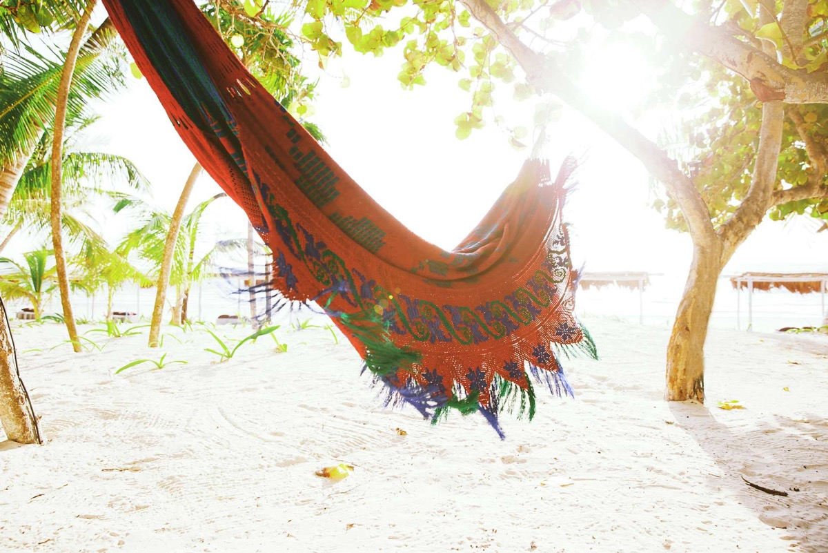 Colorful Hammock - You can now rent pablo escobar s beachside villa in tulum