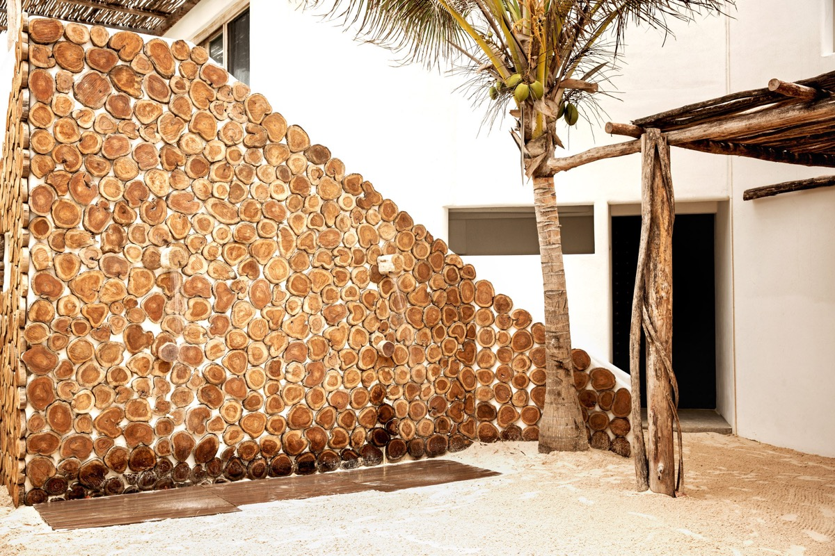 Cut Wood Wall - You can now rent pablo escobar s beachside villa in tulum