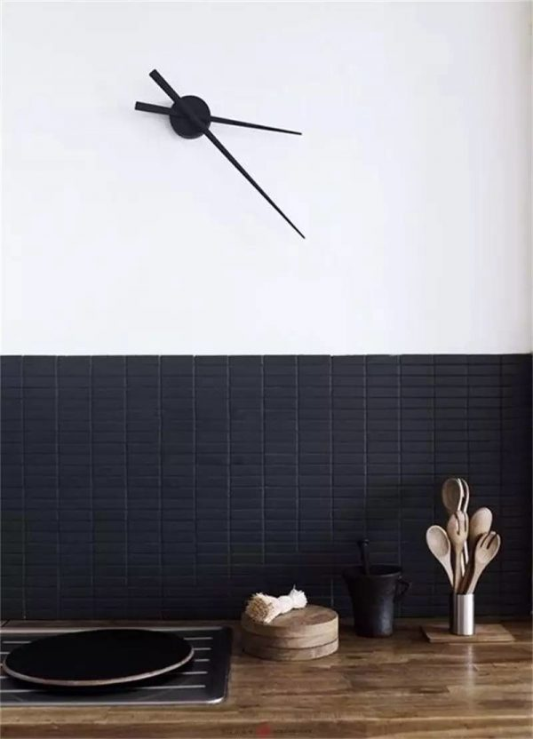 40 beautiful kitchen clocks that make the kitchen where the heart is rh home designing com kitchen clocks for sale on ebay retro kitchen clocks for sale