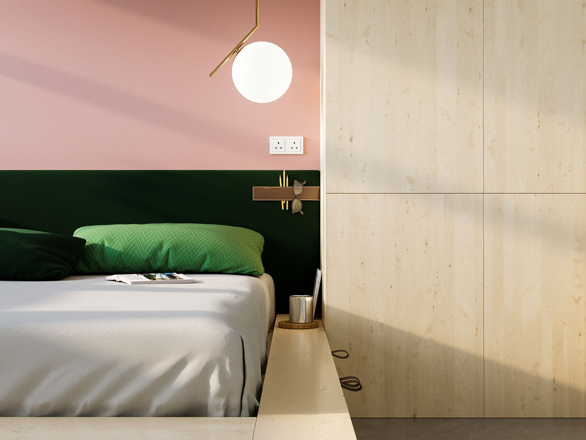 Super compact spaces a minimalist studio apartment under 23 square meters - Comfortable beds for small spaces minimalist ...