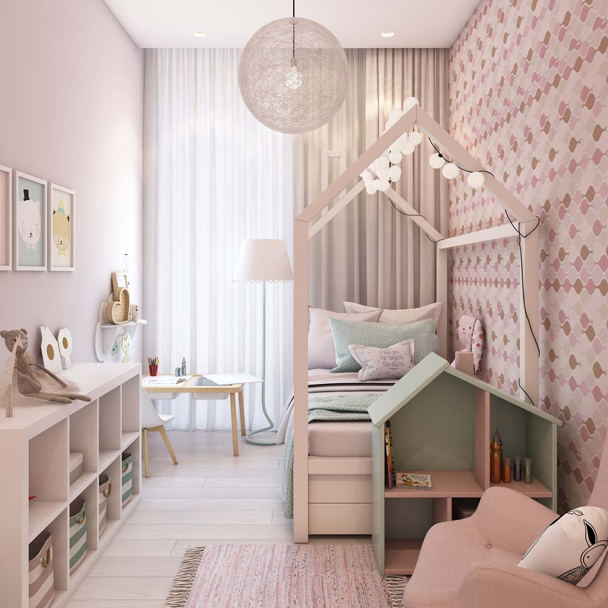 Kids Beds - A simple modern apartment in moscow