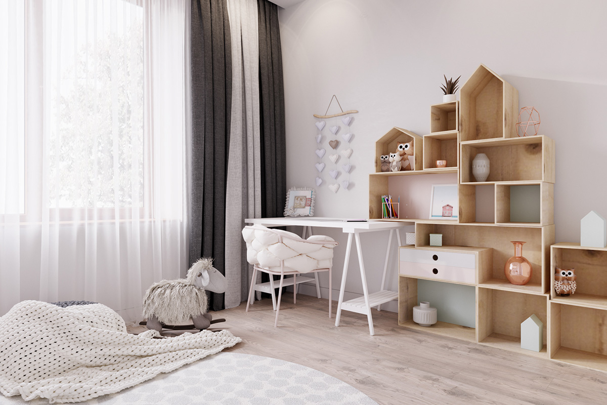 Two Large Scandinavian Style Homes For Young Families images 13