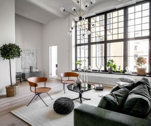 these five apartments take design