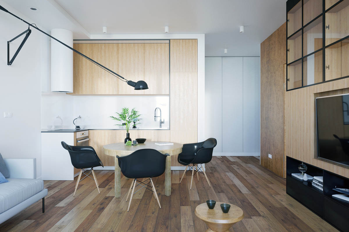 Home Design Under 60 Square Meters: 3 Examples That Incorporate ...