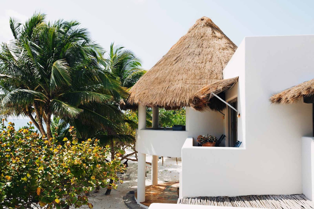 Thatched Roof - You can now rent pablo escobar s beachside villa in tulum