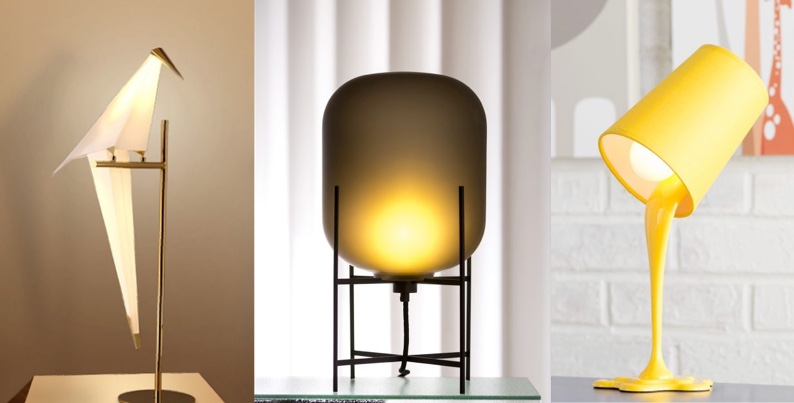 50 uniquely cool bedside table lamps that add ambience to your sleeping space