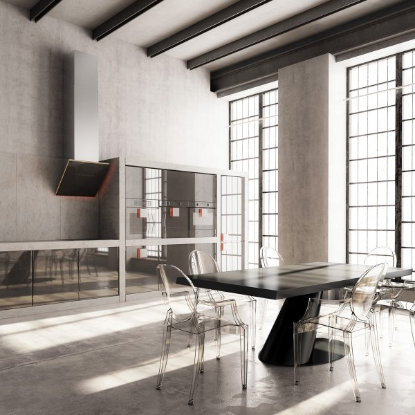 Industrial style dining room design the essential guide Room visualizer furniture