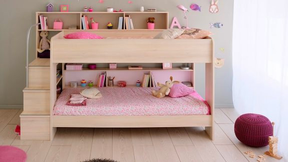 Simple  Beautiful Kids u Beds That Offer Storage With Sweet Dreams