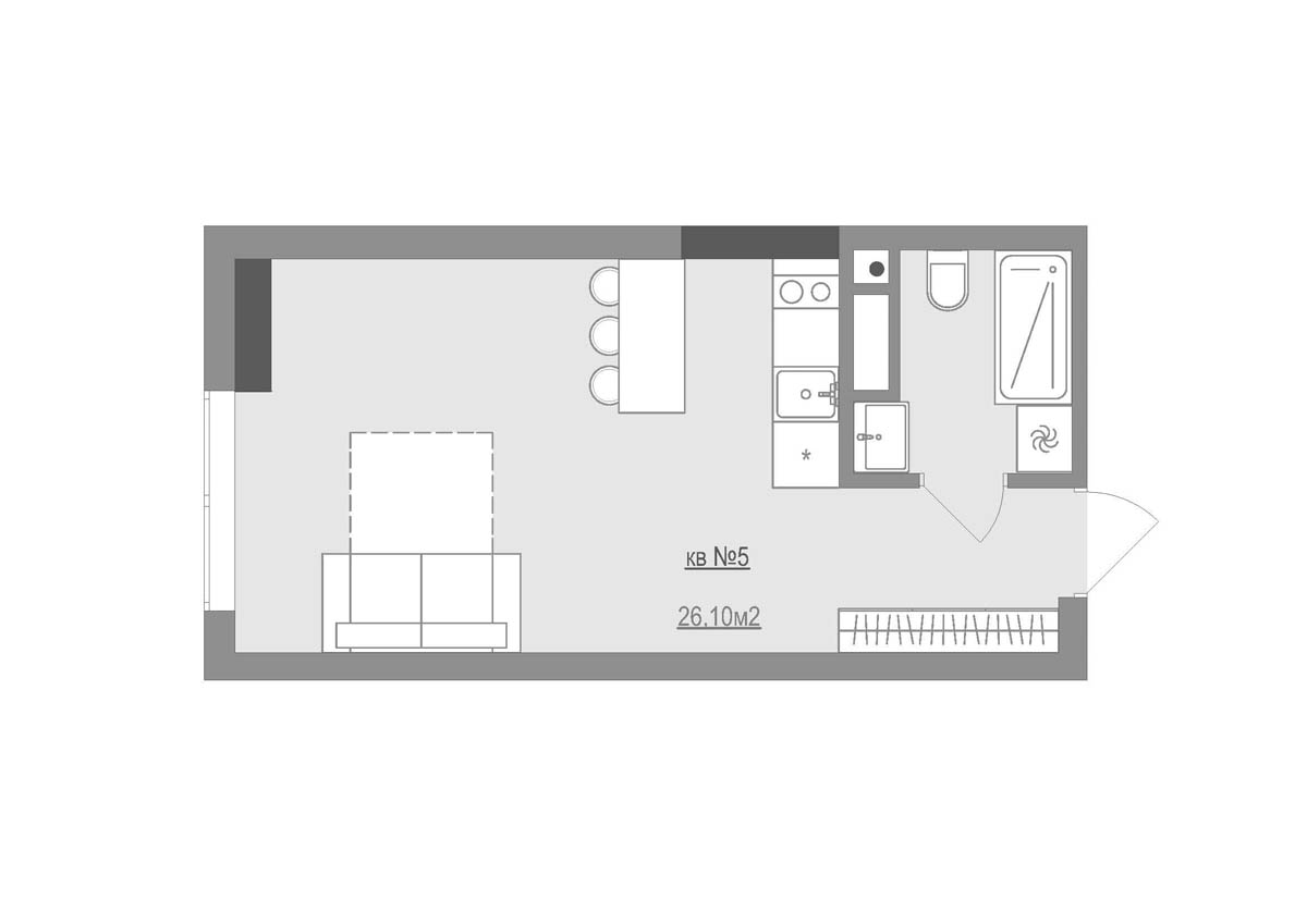 Home office design for small apartment bedroom cute small home square meter studio apartment floor plan blueprint 3 small apartments that make the best of malvernweather Images
