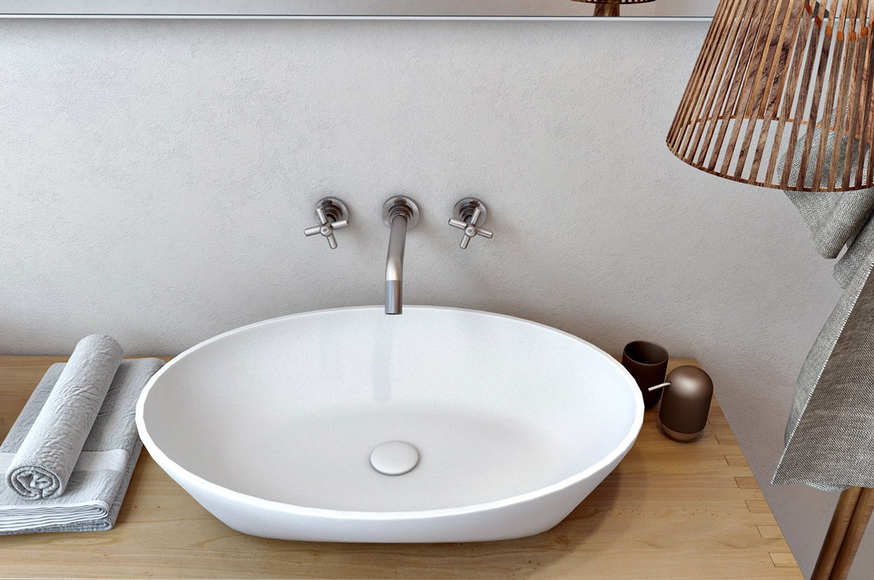 Oval Basin - 4 interiors where wood and concrete meet