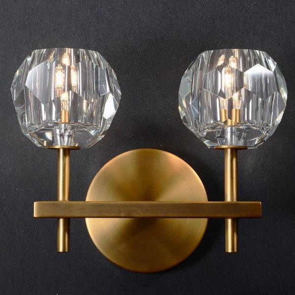 Battery Operated Crystal Wall Sconces : Battery Operated Crystal Wall Sconces - Decoration House