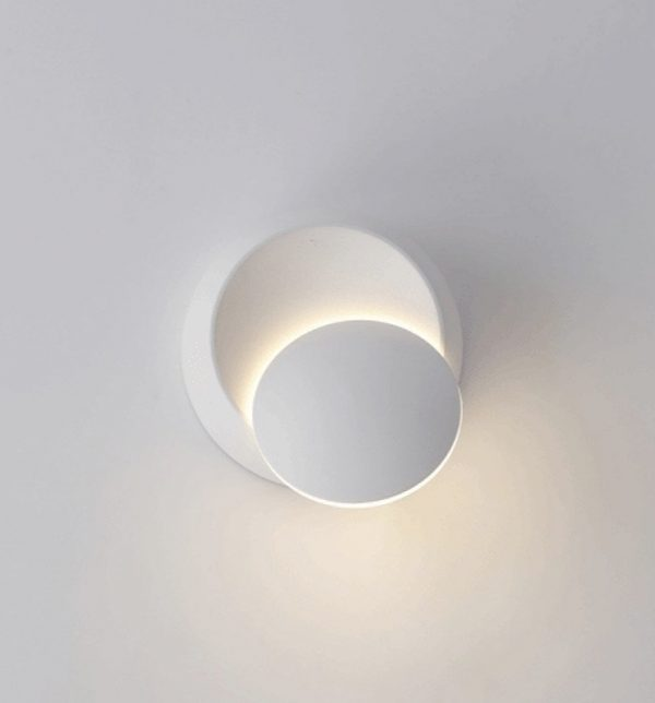 Lovely BUY IT · Modern Minimalist Circular Wall Sconce: ...