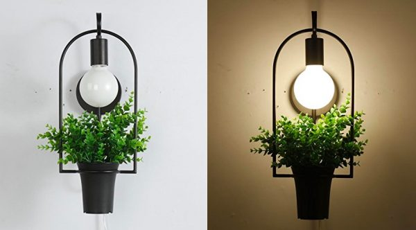 Indoor Plant Wall Sconces : 50 Uniquely Beautiful Wall Sconces That Also Serve As Decorative Pieces