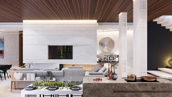 A Spacious Moscow Home That Exudes Luxury