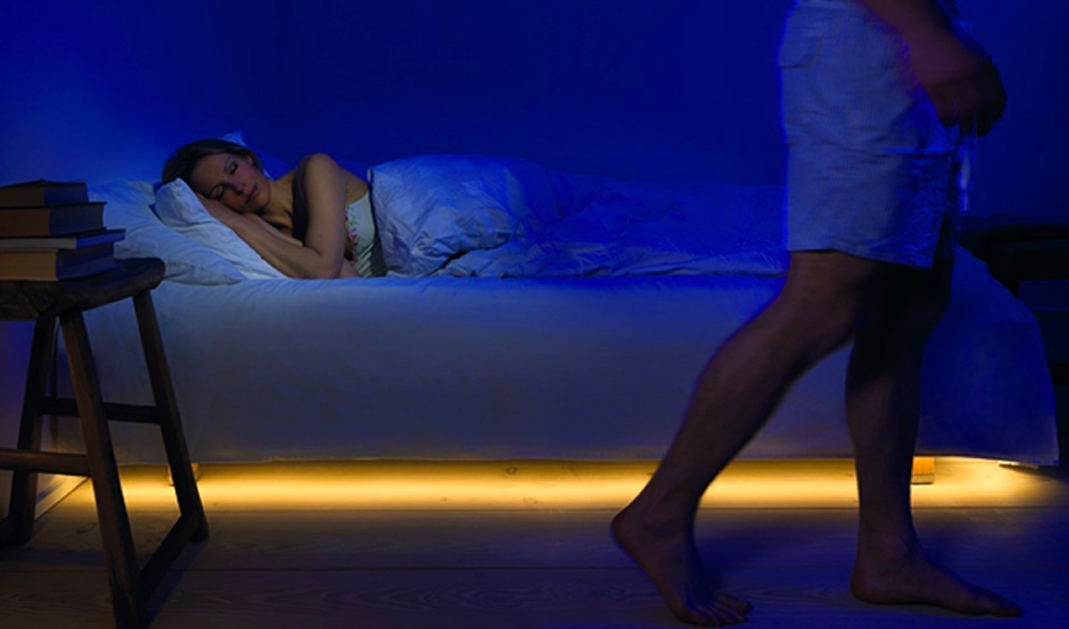 Cool product alert motion activated led lights for your for Bedroom night light