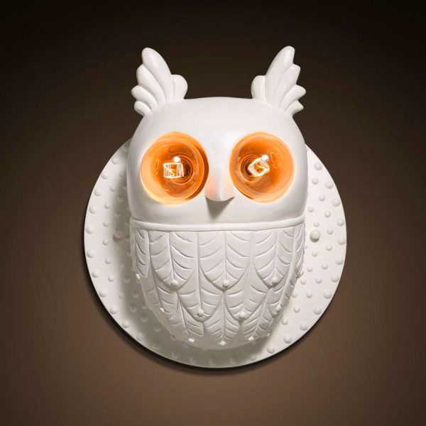 Stunning BUY IT Owl Wall Sconce Perfect