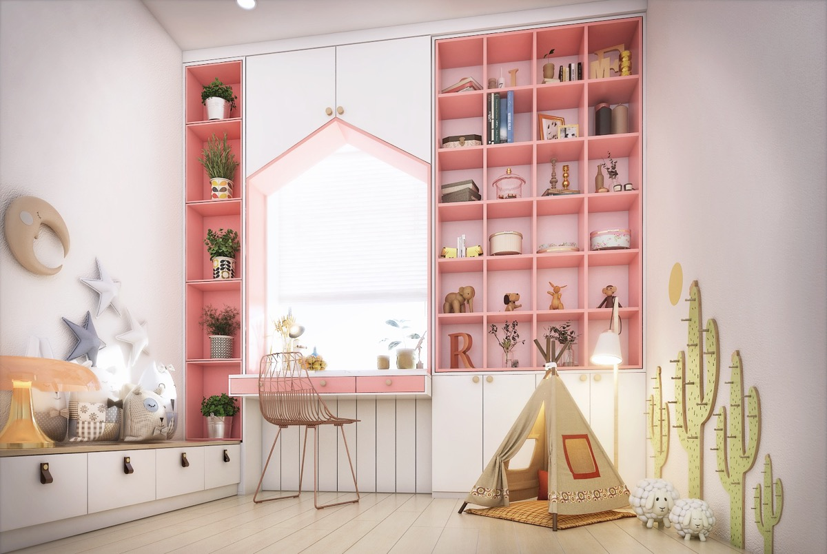 1 ... & 7 Beautiful Examples To Help You Design A Room For A Young Girl
