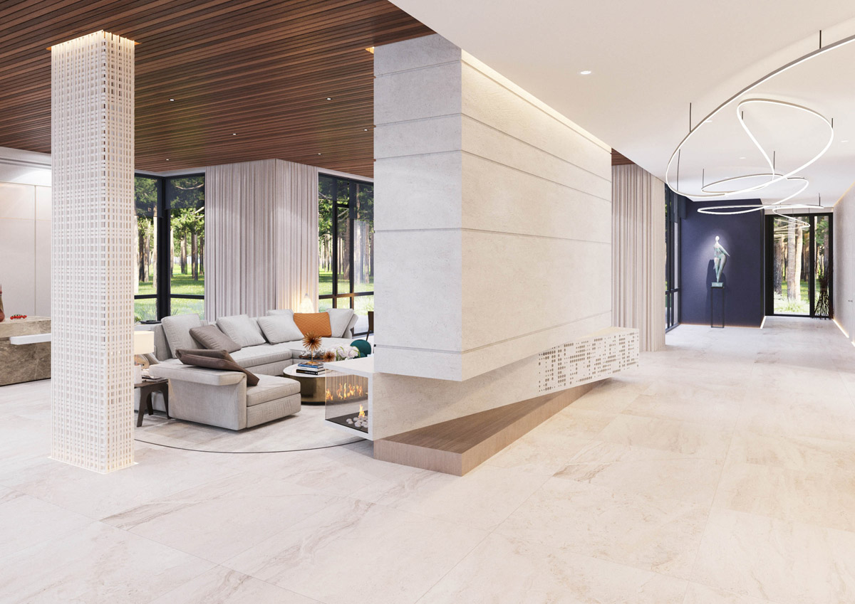 A Spacious Moscow Home That Exudes Luxury images 4
