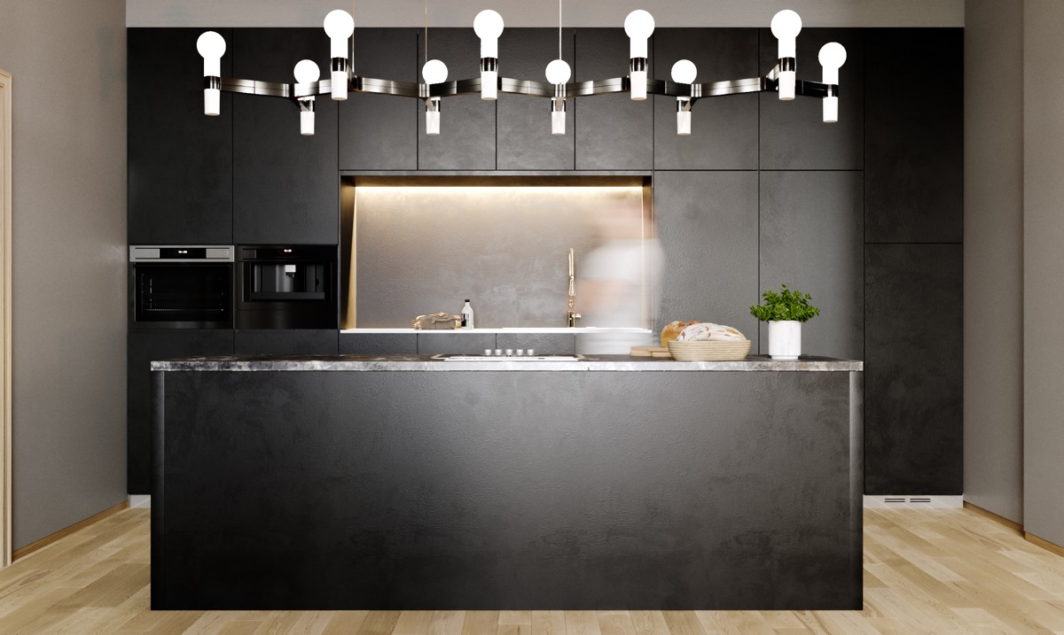 25 Examples Of Awesome Modern Kitchen Lighting Interior Design Ideas Howldb
