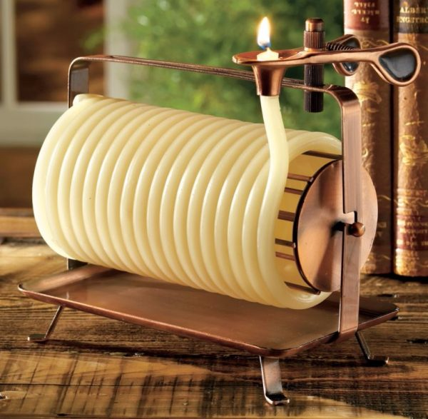 Ring In The Steampunk Decor To Pimp Up Your Home: 40 Unique Decorative Candles To Add A Soothing Glow To
