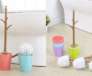 Cool Product Alert: Unique Branch Shaped Toilet Brush #038; Holder